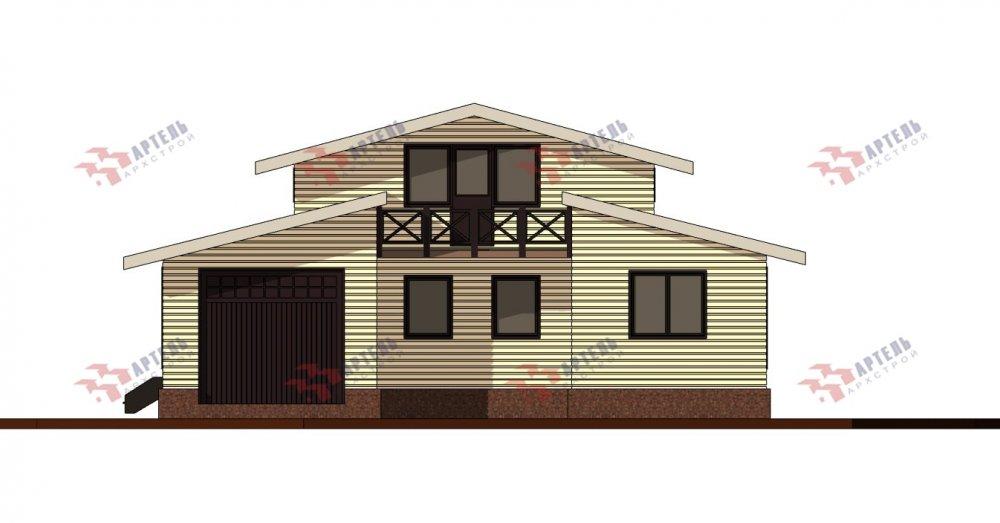 одноэтажный дом из профилированного бруса площадью свыше 200 кв. м., проект Вариант 12.4Л-Н фотография 5001