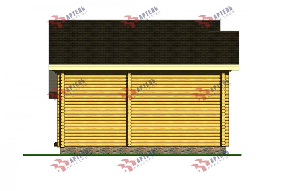 двухэтажный дом из профилированного бруса площадью от 100 до 150 кв. м., проект Вариант 8,4Б фотография 5076