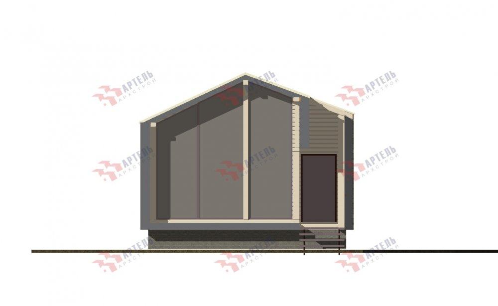 одноэтажный дом из профилированного бруса площадью до 100 кв. м., проект Вариант 6 Б фотография 5081