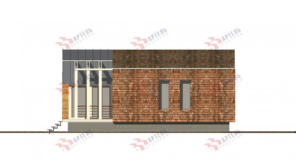 одноэтажный дом из профилированного бруса площадью до 100 кв. м., проект Вариант 6 Б фотография 5082