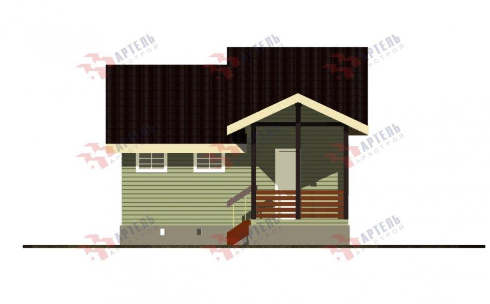 двухэтажный дом из бруса площадью от 100 до 150 кв. м. с  мансардой, проект Вариант 7М фотография 5107