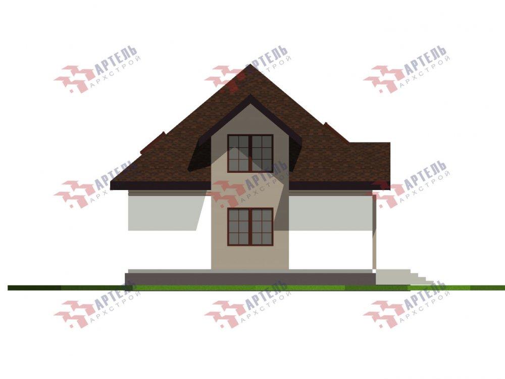 дом омбинированные дома, проект Вариант 10,5К Комбинированный фотография 5746