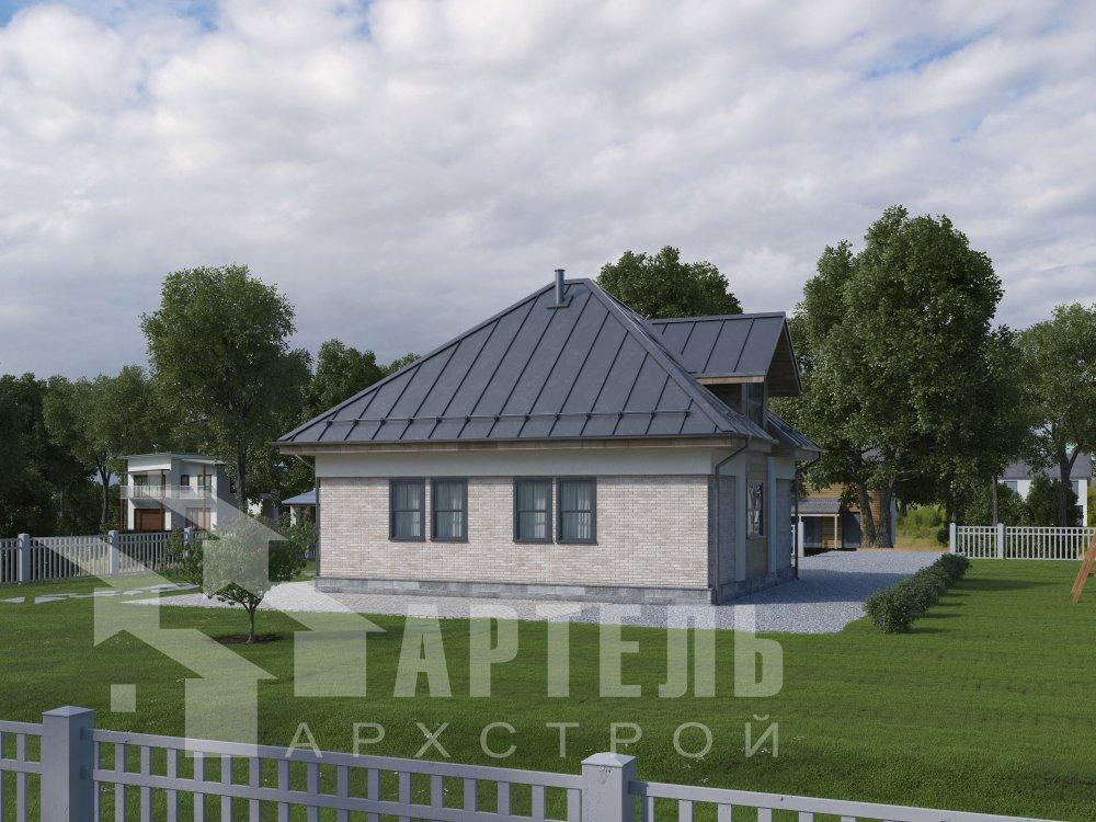 дом омбинированные дома, проект Вариант 10,5К Комбинированный фотография 5755