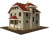 двухэтажный дом из камня площадью свыше 200 кв. м., проект Вариант 8 фотография 1921