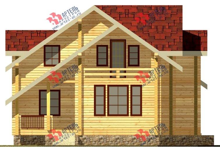 двухэтажный дом из бруса площадью свыше 200 кв. м. с  балконом, мансардой, проект Вариант 9.5 К-2 фотография 100