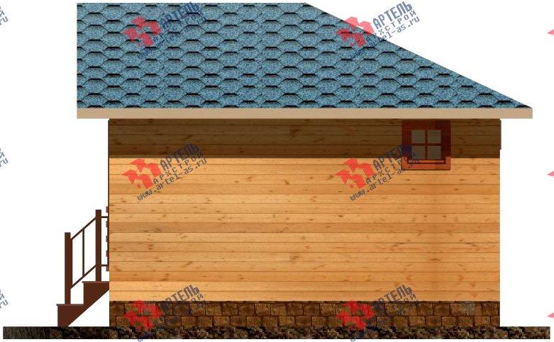 одноэтажный дом из профилированного бруса площадью до 100 кв. м., проект Вариант 4 фотография 1553