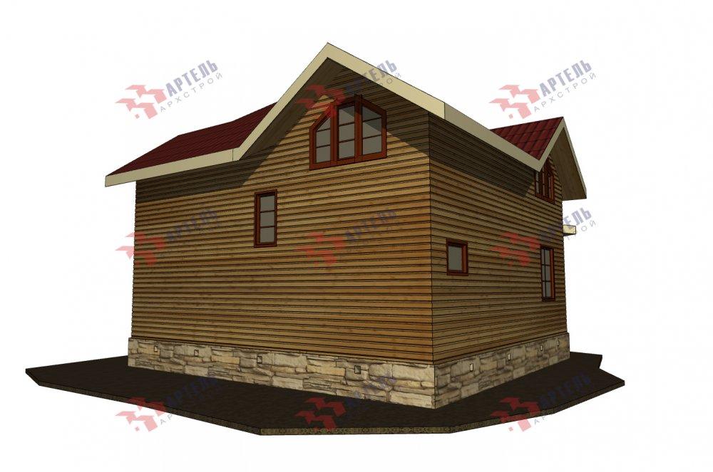 одноэтажный дом из профилированного бруса площадью от 150 до 200 кв. м., проект Вариант 9.3В фотография 5635