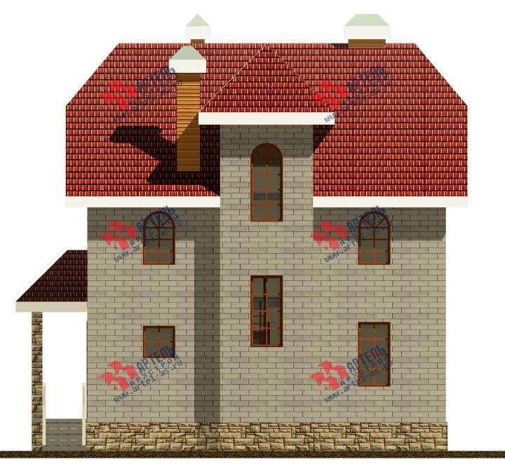 двухэтажный дом из камня площадью свыше 200 кв. м., проект Вариант 8 фотография 520