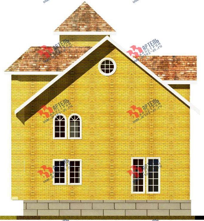 трёхэтажный дом из камня площадью свыше 200 кв. м. с  эркером, проект Вариант 20 фотография 647