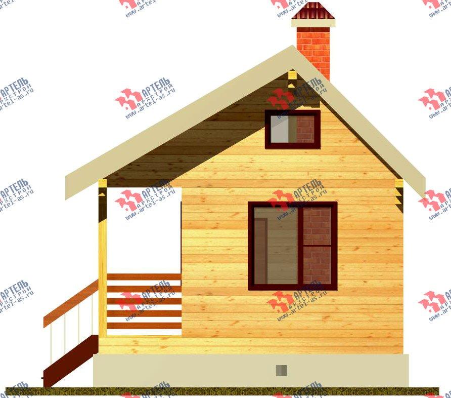 дом из профилированного бруса, проект Вариант 1 фотография 1526