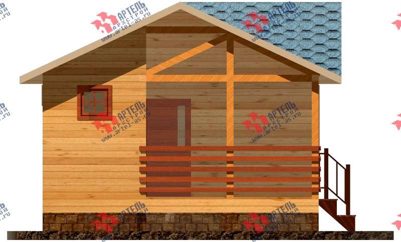одноэтажный дом из профилированного бруса площадью до 100 кв. м., проект Вариант 4 фотография 1555