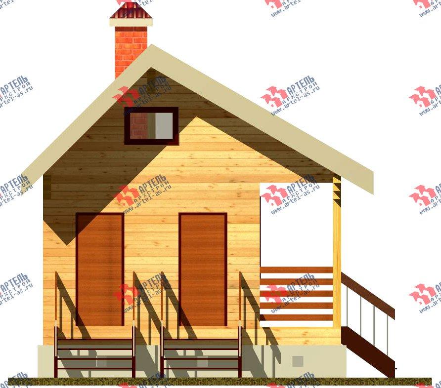 дом из профилированного бруса, проект Вариант 1 фотография 1527