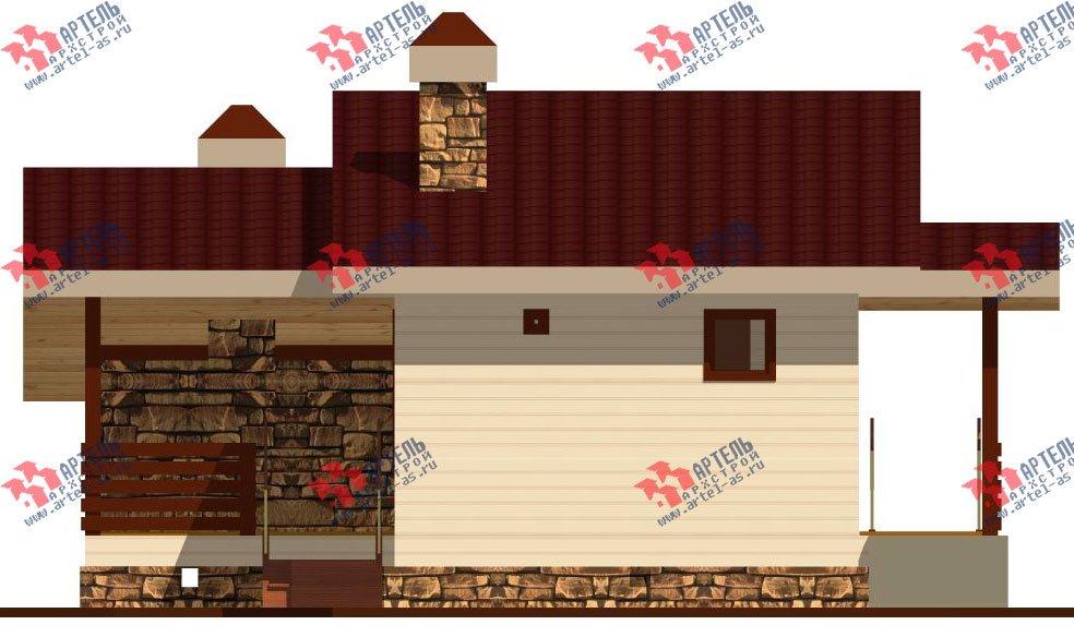 одноэтажный дом из профилированного бруса площадью до 100 кв. м., проект Вариант 5 фотография 1565