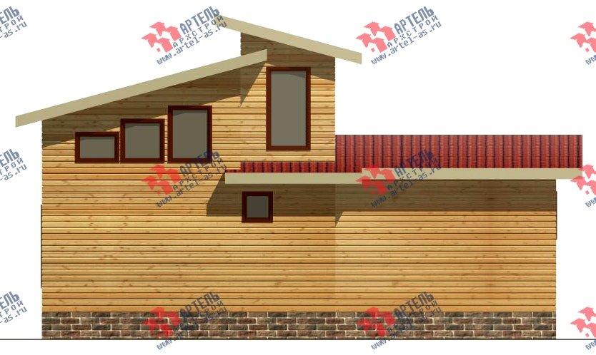 двухэтажный дом из бруса площадью до 100 кв. м. с  мансардой, проект Вариант 7 Л фотография 2165