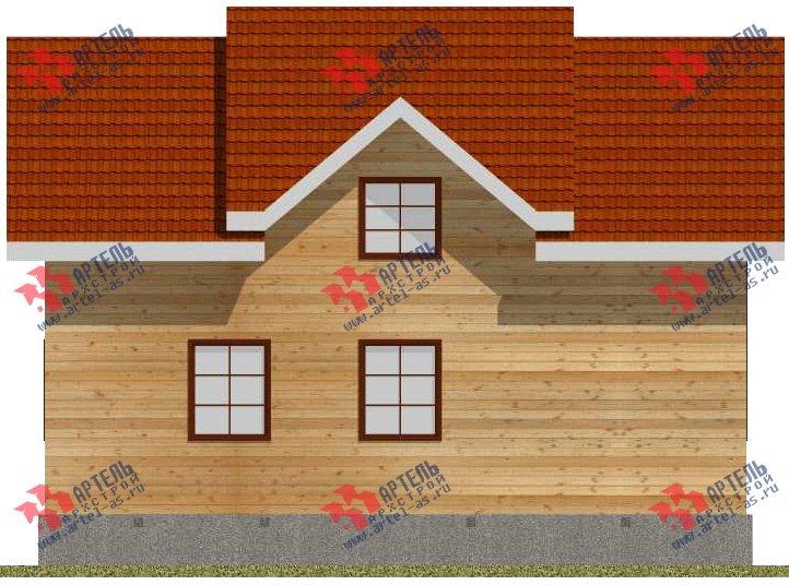 двухэтажный дом из бруса площадью от 150 до 200 кв. м. с  мансардой, проект Вариант 11 Л-2 фотография 3169