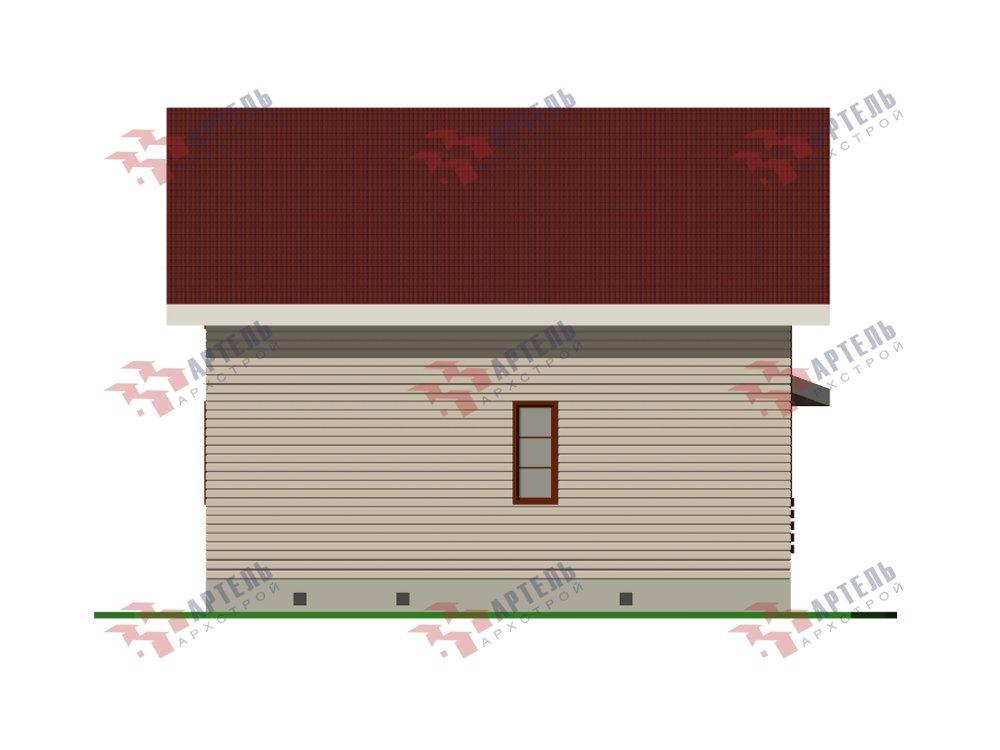 двухэтажный дом из профилированного бруса площадью от 100 до 150 кв. м. с  мансардой, эркером, проект Вариант 7.2 К фотография 5849