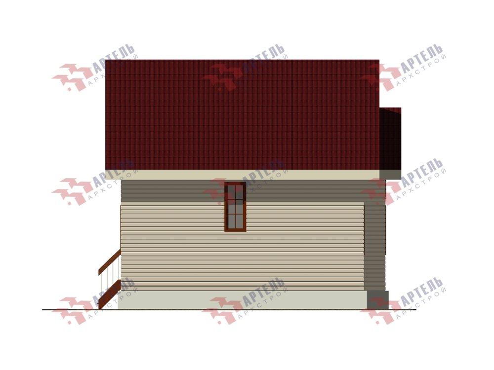 двухэтажный дом из профилированного бруса площадью от 100 до 150 кв. м. с  мансардой, эркером, проект Вариант 8.5 Б фотография 5907