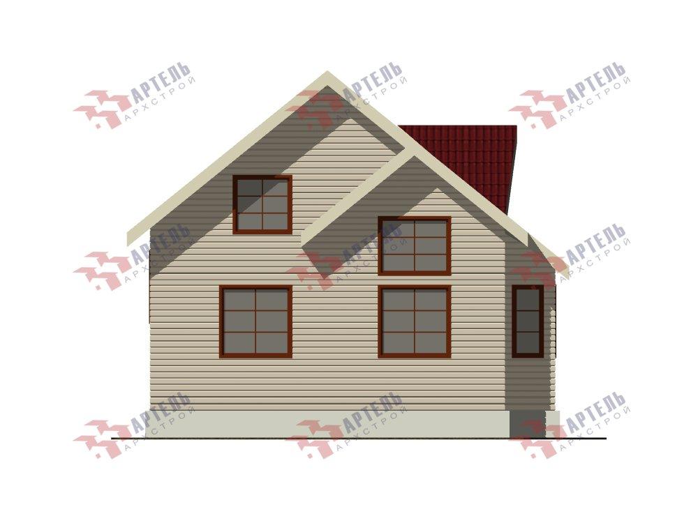 двухэтажный дом из профилированного бруса площадью от 100 до 150 кв. м. с  мансардой, эркером, проект Вариант 8.5 Б фотография 5908