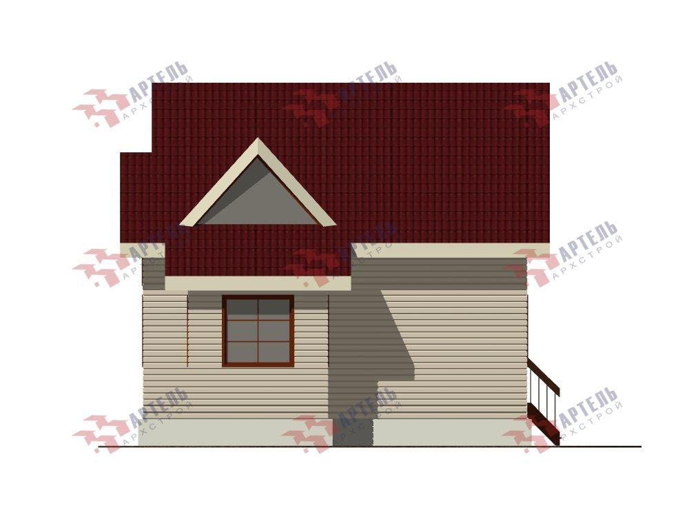 двухэтажный дом из профилированного бруса площадью от 100 до 150 кв. м. с  мансардой, эркером, проект Вариант 8.5 Б фотография 5909