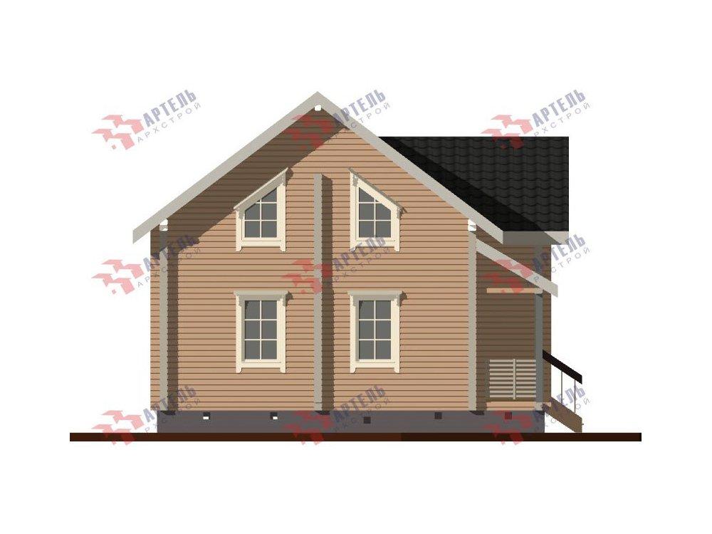 дом из профилированного бруса, проект Вариант 8,7 Б фотография 5967