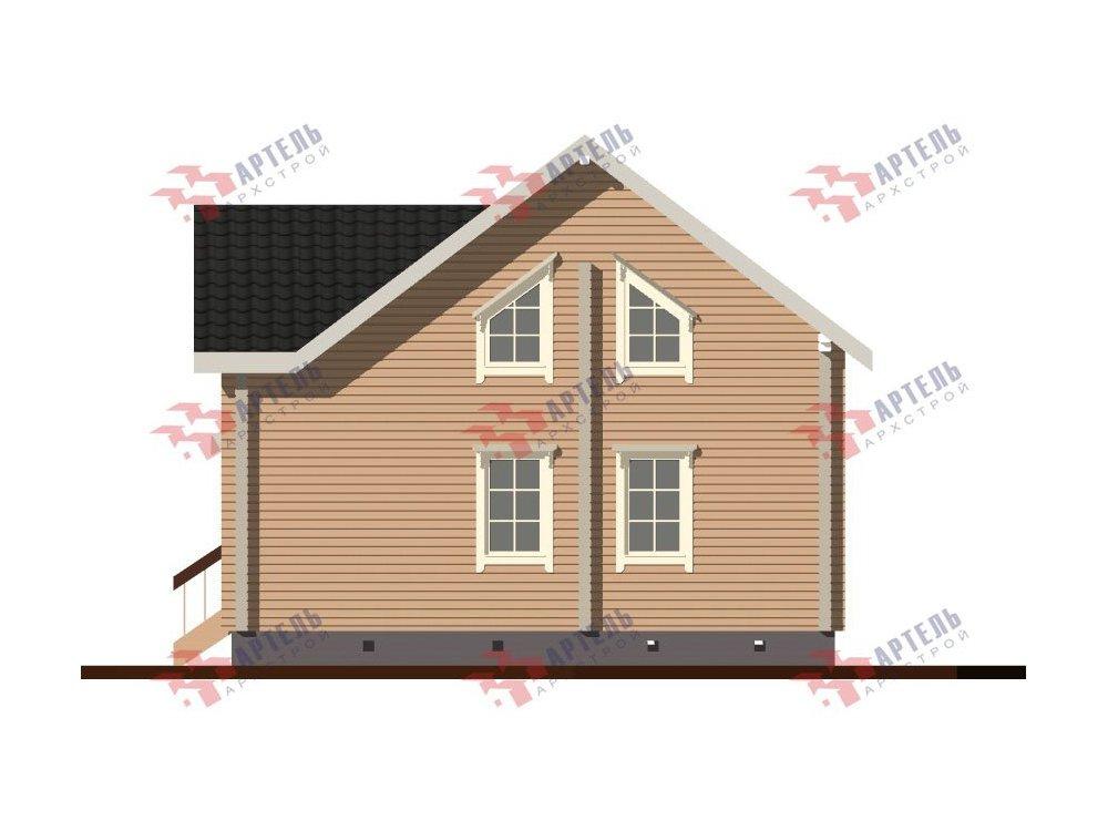 дом из профилированного бруса, проект Вариант 8,7 Б фотография 5969