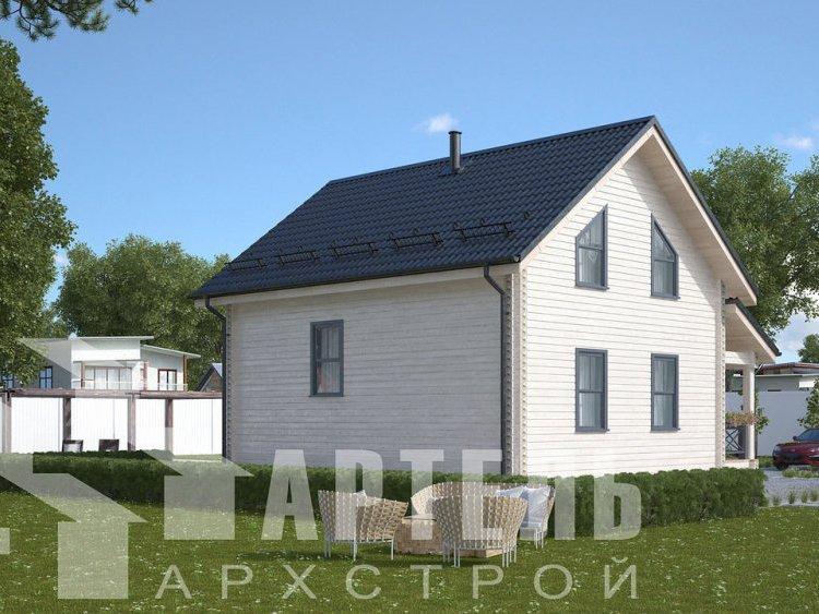 дом из профилированного бруса, проект Вариант 8,7 Б фотография 5954