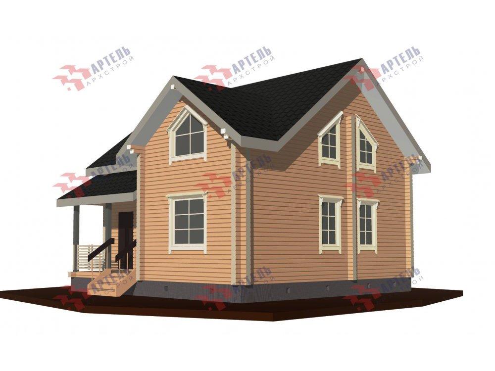 дом из профилированного бруса, проект Вариант 8,7 Б фотография 5963
