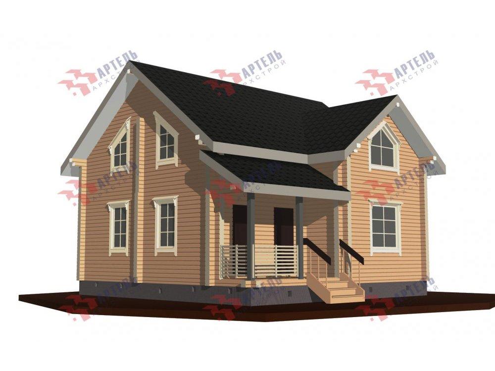 дом из профилированного бруса, проект Вариант 8,7 Б фотография 5964