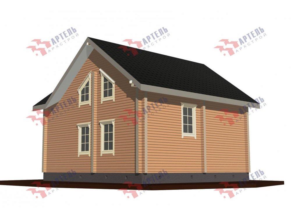 дом из профилированного бруса, проект Вариант 8,7 Б фотография 5965