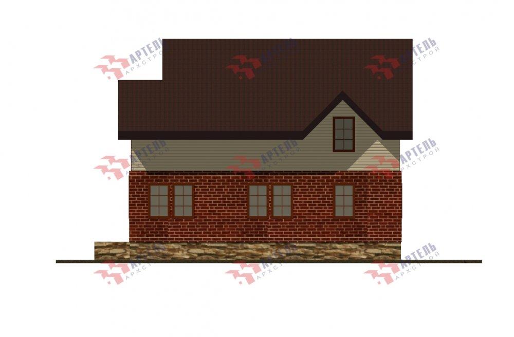 дом омбинированные дома, проект Вариант 12.6 А Комбинированный фотография 5525