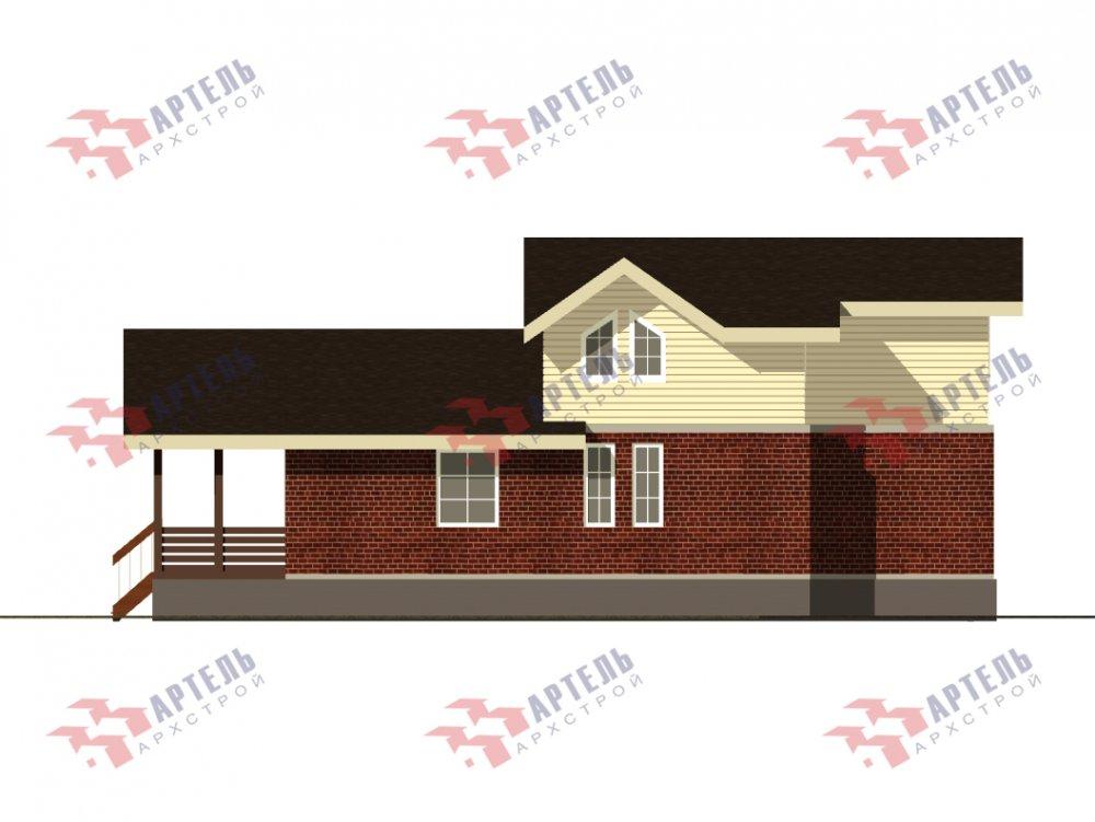 дом омбинированные дома, проект Вариант 15,9К Комбинированный фотография 5582