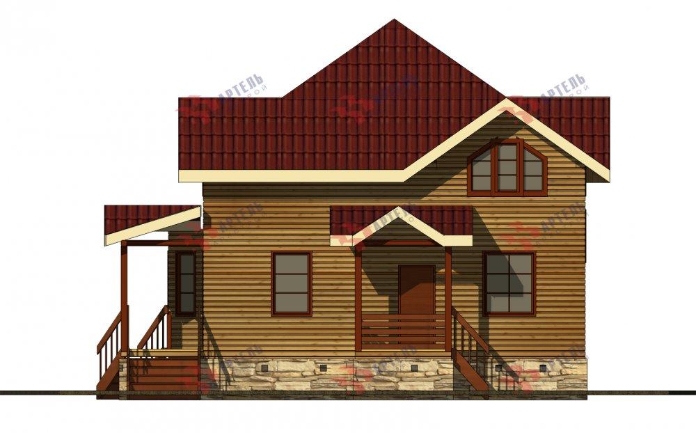 одноэтажный дом из профилированного бруса площадью от 150 до 200 кв. м., проект Вариант 9.3В фотография 5638