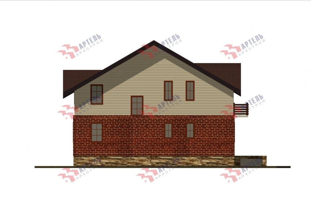 дом омбинированные дома, проект Вариант 12.6 А Комбинированный фотография 5526