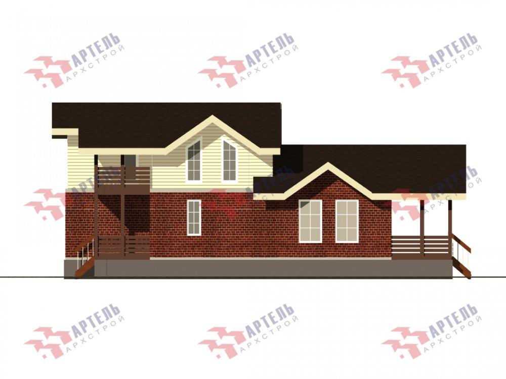 дом омбинированные дома, проект Вариант 15,9К Комбинированный фотография 5583