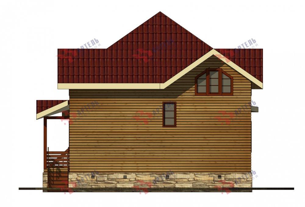одноэтажный дом из профилированного бруса площадью от 150 до 200 кв. м., проект Вариант 9.3В фотография 5639