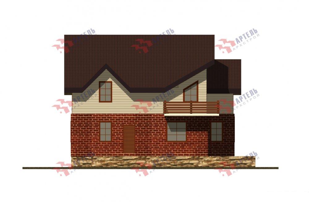 дом омбинированные дома, проект Вариант 12.6 А Комбинированный фотография 5527