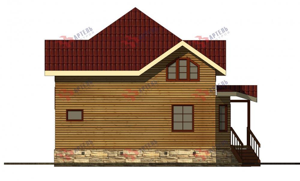 одноэтажный дом из профилированного бруса площадью от 150 до 200 кв. м., проект Вариант 9.3В фотография 5640