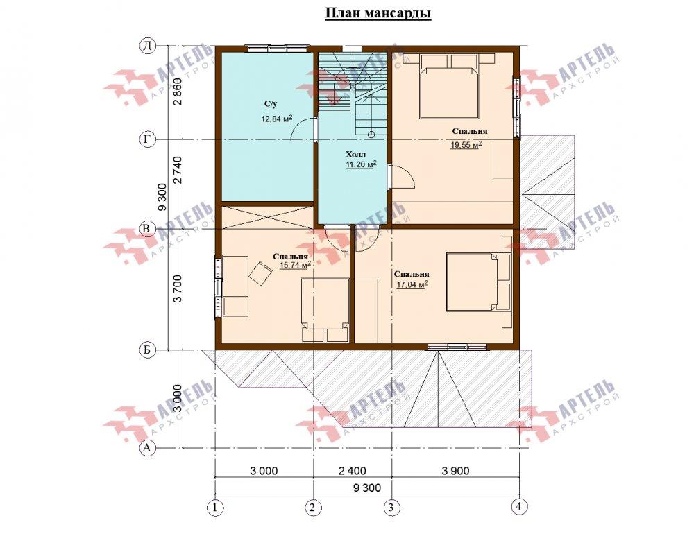 одноэтажный дом из профилированного бруса площадью от 150 до 200 кв. м., проект Вариант 9.3В фотография 5642
