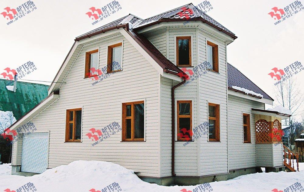 дом из профилированного бруса построенный по проекту Вариант 6 К фотография 3022