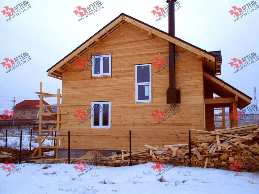 дом из бруса построенный по проекту Вариант 11 Л-2 фотография 3760