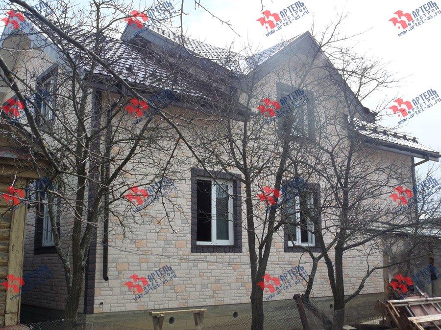 дом из бруса построенный по проекту Вариант 11 Л-2 фотография 3745