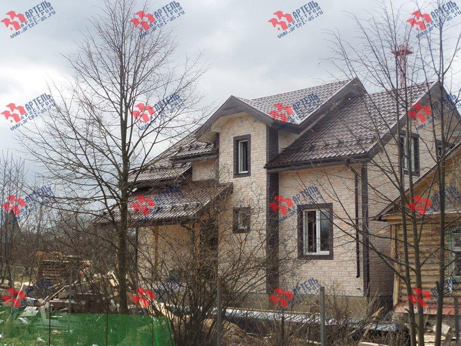 дом из бруса построенный по проекту Вариант 11 Л-2 фотография 3748