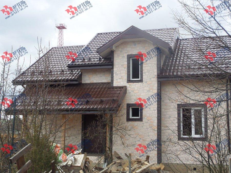 дом из бруса построенный по проекту Вариант 11 Л-2 фотография 3749
