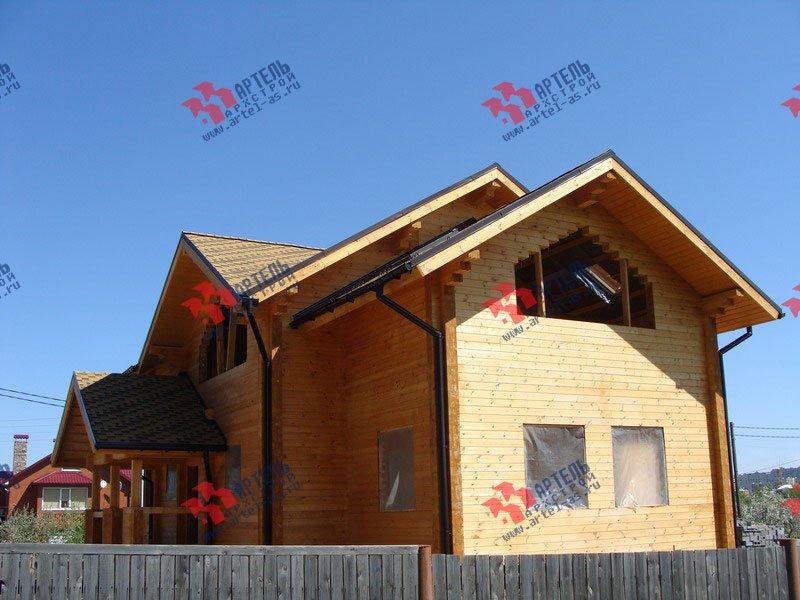 дом из профилированного бруса построенный по проекту Вариант 9.5 Т фотография 1812