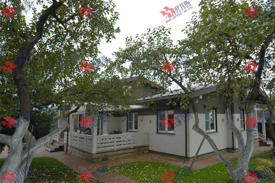 дом из профилированного бруса камерной сушки построенный по проекту Вариант 5 фотография 3741