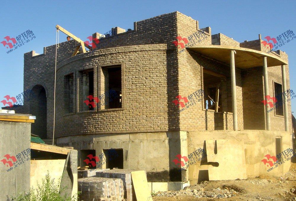 дом из камня построенный по проекту Вариант 3 фотография 1616