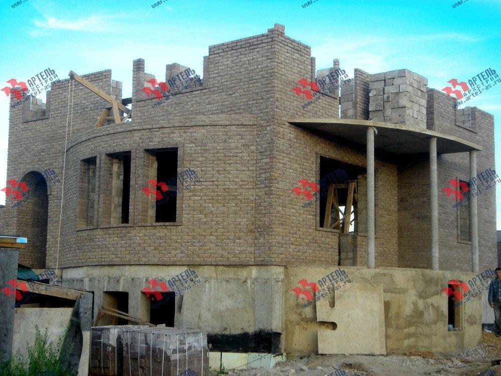 дом из камня построенный по проекту Вариант 3 фотография 1619