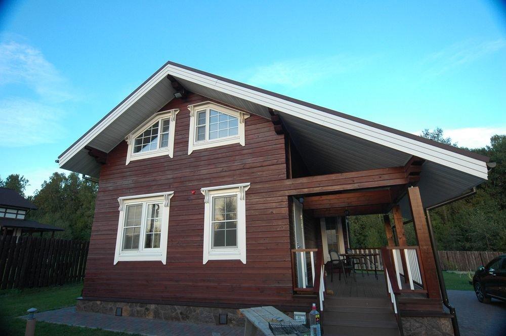 дом из профилированного бруса построенный по проекту Вариант 6 Л фотография 5979