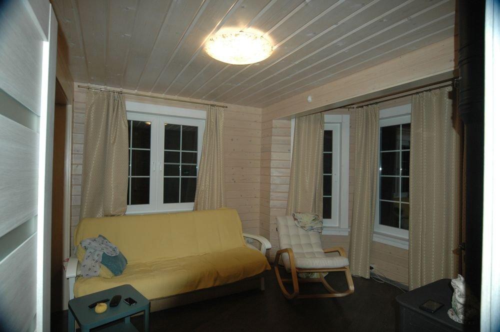 дом из профилированного бруса построенный по проекту Вариант 6 Л фотография 5987
