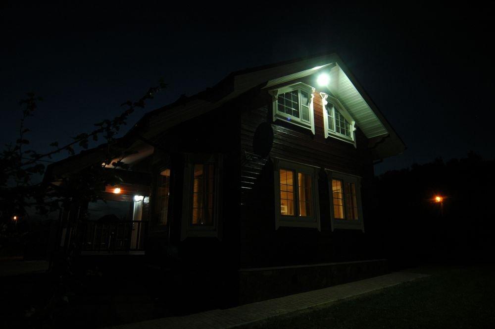 дом из профилированного бруса построенный по проекту Вариант 6 Л фотография 5989
